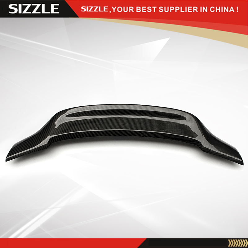 r style carbon fiber rear trunk spoiler for mercedes w207. Black Bedroom Furniture Sets. Home Design Ideas