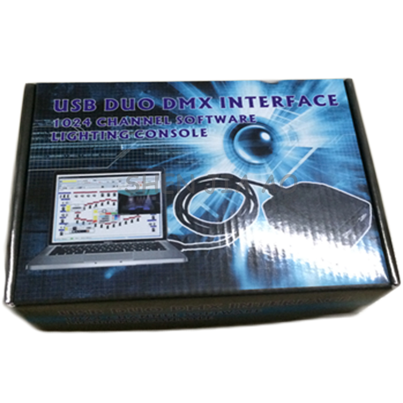 USB DMX controller stage light 1024CH USB control stage lighting equipment light control console DC9 12V 1PC - 6