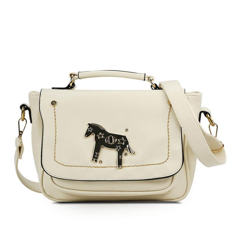 2017 Cute New Fashion Korean Female Shoulder Messenger Bag Las Candy Color Pony Pattern Handbags Casual By Factory In Bags From Luggage