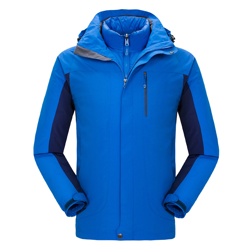 Hot Sale Winter Hiking Camping Outdoor Sport Waterproof Jacket Men Windbreaker Down Lining Coat Ski Snowboard Jaqueta Masculina new mens 3in1 outdoor fleece lining hooded waterproof winter jacket men windbreaker coat ski hiking camping jaqueta masculina
