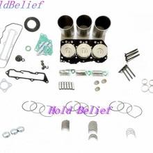 Ремонтный комплект для ремонта для PC20-7 Комацу PC25-1 PC28UU комплект поршневых колец с прокладкой для двигателя