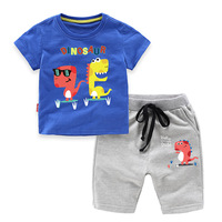 Summer Cotton Baby Boys' 2-Piece Sets Childr ...