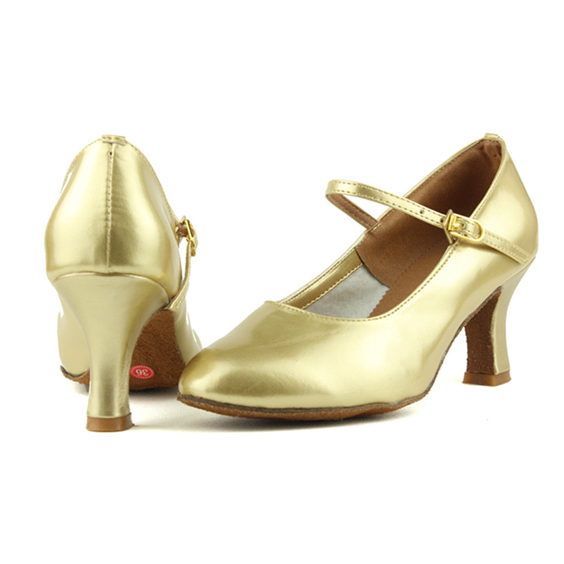 Peta 7cm Crno zlato Srebro Salsa Plesna obuća Zapatos Salsa Mujer - Tenisice - Foto 4