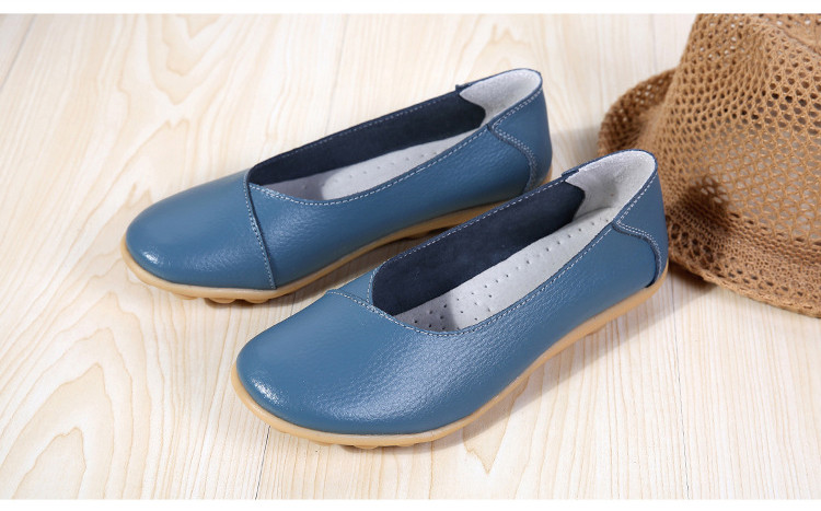 AH 5928-2019 Spring Autumn Woman Flats Casual Women Loafers-16