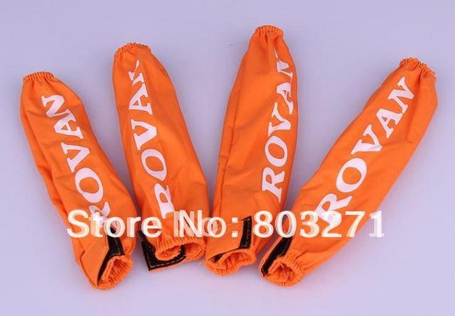 HPI baja 5b absorber dustproof, 4pcs orange,black-FREE SHIPPING
