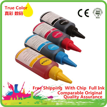 Specialized H-711 Refill Dye Ink Kit For Designjet T120 24-in T120 610 mm T520 24-in ePrinter Refillable Cartridge image