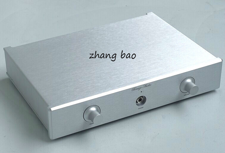 BZ3306 Full aluminum Rounded Enclosure Amplifier case Preamp chassis DAC/PSU box 4312 blank full aluminum enclosure power amplifier box psu chassis preamp case
