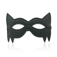 Adult Games Gay Leather Cat Role-play Mask Sexy Flirt Erotic Toys Fetish BDSM Sex Bondage Sexy Mask Sex Toys For Couples