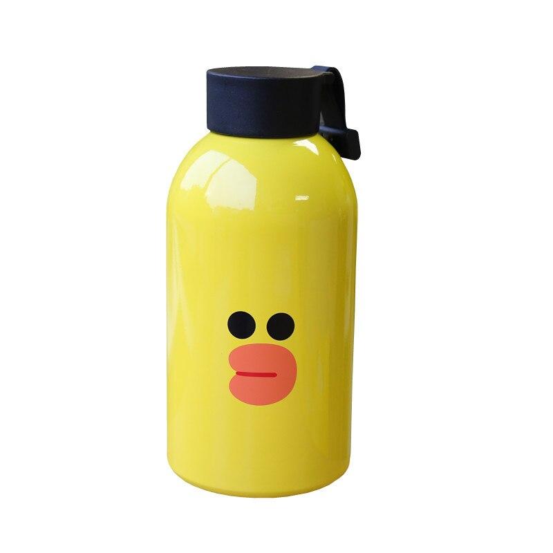 304 термос с изоляцией из нержавеющей стали кофейные кружки для поездок в Корейском стиле термо Вакуумная бутылка для воды 650 мл Термочашка подарки влюбленным