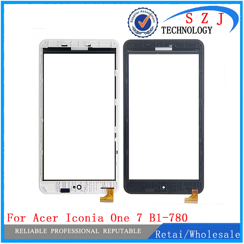 New 7'' inch For Acer Iconia One 7 B1-780 Replacement Touch Screen Panel Digitizer Glass with Frame Free Shipping new 7 inch digitizer touch screen panel glass for acer iconia one 7 b1 730 p n cff3325 c free shipping