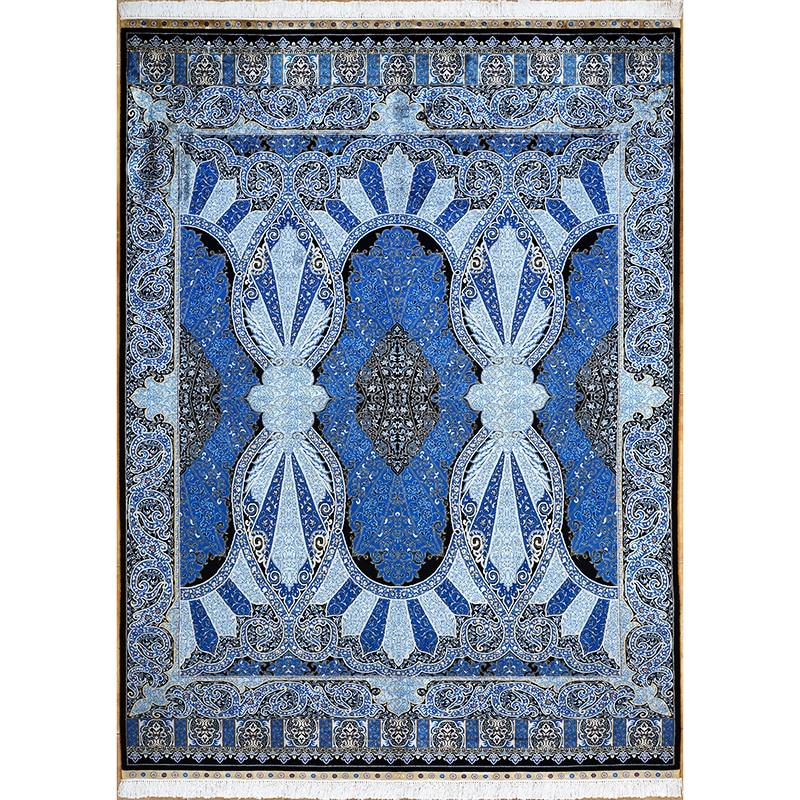 6'x9 'turquie Design ciel de porte tapis turcs faits à la main tapis en soie orientale pour salon grands tapis
