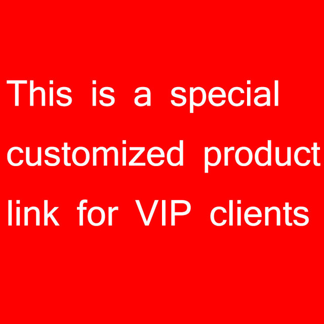 This Is A Special Customized Product Link For VIP Clients