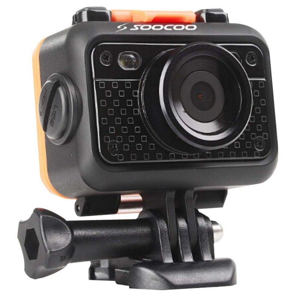 Unterhaltungselektronik Sport & Action-videokameras Soocoo S60 Hd 1080 P Wifi Sport Action Kamera 170 Grad Weitwinkel Objektiv 60 M Wasserdicht 2,4g Wireless Fernbedienung