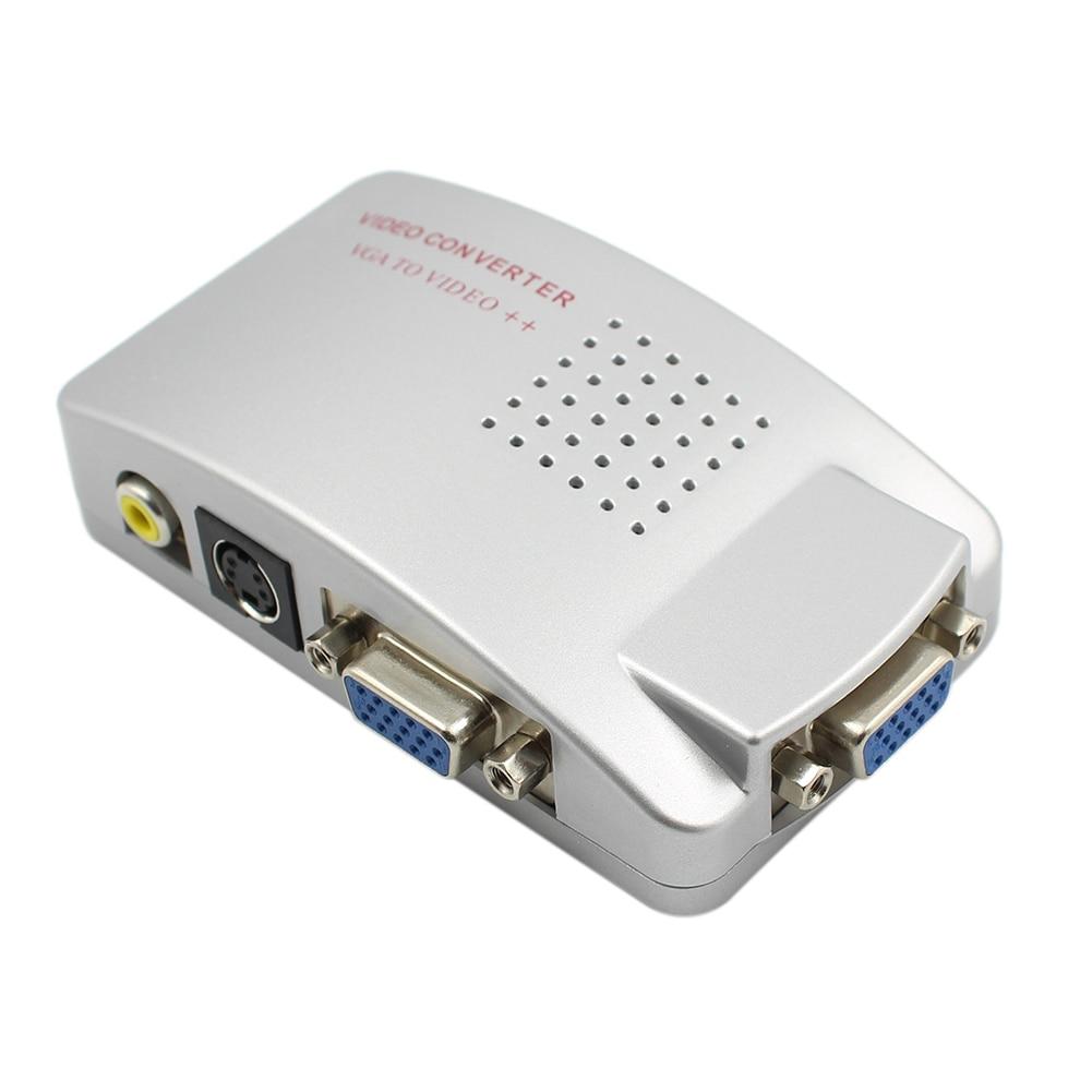 PC Laptop Composite Video TV RCA Composite S-Video AV In To PC VGA - Համակարգչային մալուխներ և միակցիչներ - Լուսանկար 4