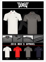 PXG Golf T Shirt Mens Sportswear Short Sleeve Golf T Shirt 4colors Golf Clothes S XXL