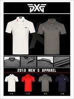PXG Golf T Shirt Mens Sportswear Short Sleeve Golf T Shirt 4colors Golf Clothes S XXL