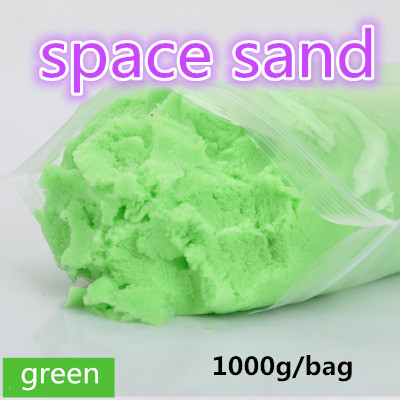 2016 Hot sale 1000G dynamic Amazing DIY educational toy No-mess Indoor Magic Play Sand Children toys Mars space sand multicolors free shippin 1000g dynamic amazing diy educational toy no mess indoor magic play sand children toys mars space sand