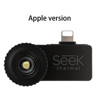 Mobile Phone Thermal Infrared Imager Support Video Pictures For IOS Thermal Imaging Temperature Detector