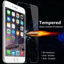 SYCASE For iPhone 4 4s 5 5s SE 6 6s 7 8 plus 9H Premium Tempered Glass Screen Protector for iPhoneX Protective Cover