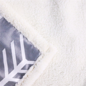 Image 2 - بطانية شيربا برسومات حيوانات ثلاثية الأبعاد على شكل قطة سوداء من BlessLiving بطانية شيربا مفارش حيوانات أليفة جميلة برسومات من الفرو وبطانة رقيقة 150x200سم