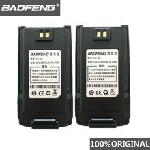 2 Stuks 100% Origineel Baofeng UV 9R Walkie Talkie 7.4V 2200Mah Li Ion Batterij Voor Pofung Uv 9R Twee Manier radio UV9R Woki Toki