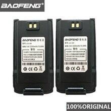 2 pieces 100% Original  BaoFeng UV-9R Walkie Talkie 7.4V 2200mah Li-ion Battery for Pofung UV 9R Two way radio UV9R Woki toki