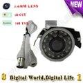 700TVL mini Câmera do CCTV Da bala de seguridad De Vigilância Por Vídeo de segurança IR 20 m day & Night IP66 à prova d' água de metal habitação