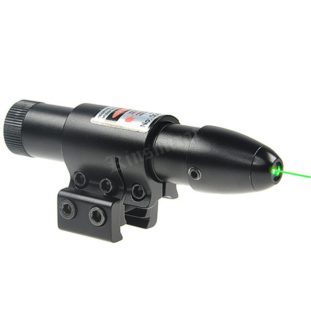 Mira laser verde universal, para armas airsoft