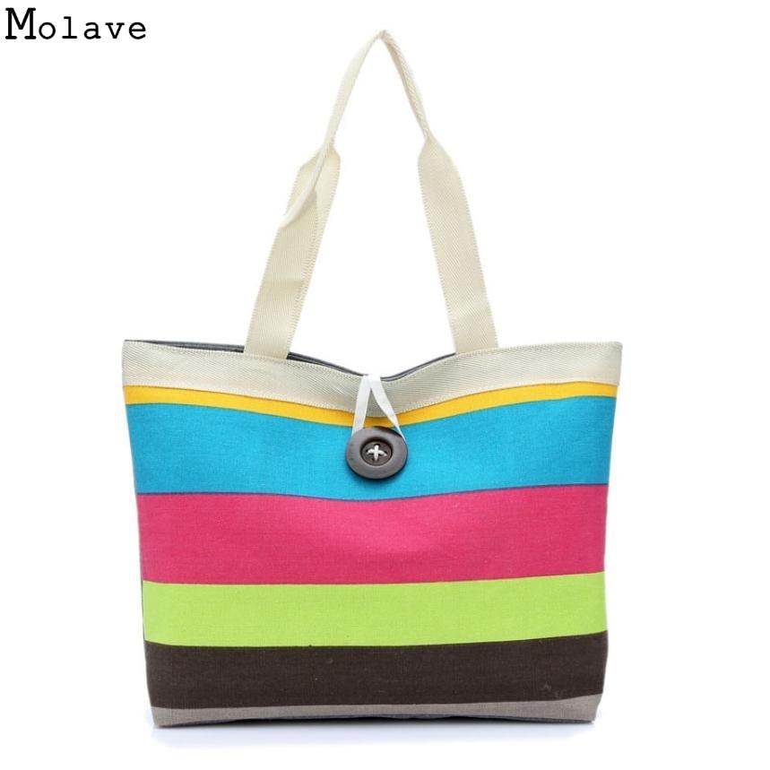 Леди волны холщовой сумка ручной клатч женская сумка большая кнопка Британский Винтаж Сумки на плечо Портфели dec30
