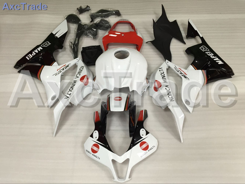 Motorcycle Fairings For Honda CBR600RR CBR600 CBR 600 RR 2007 2008 F5 ABS Plastic Injection Fairing Bodywork Kit White Red Black abs injection fairings kit for honda 600 rr f5 fairing set 07 08 cbr600rr cbr 600rr 2007 2008 castrol motorcycle bodywork part