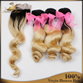 Platinum Blonde Virgin Hair With Closure 613 Bleached Blonde 1pcs Swiss Lace Closure and 3pcs Hair Bundles Brazilian Virgin Hair