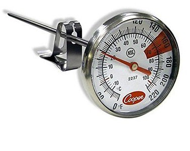 Cooper-Atkins 2237-04 Stainless Steel Bi-Metal Espresso Milk Frothing -10 to книги эксмо путь князя