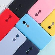 Custodia in silicone Per Xiaomi Redmi 5 Più di Colore Della Caramella TPU Custodie Per Redmi Nota 7 6 5 Pro 4X 5A redmi 7 6 Pro 4A 4X 5A 6A Opaca Della Copertura