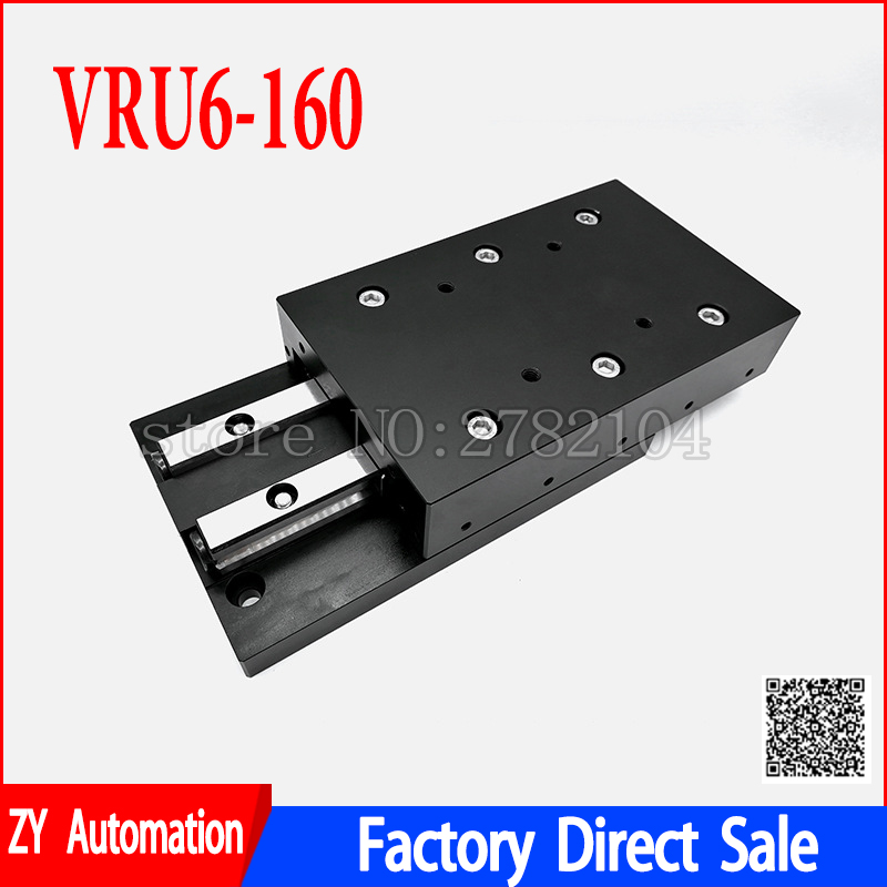Cross Roller Guide Plate Linear Guide Rail CNC Cross Sliding stage VRU6160 VRU6310 VRU6260 VRU6 160 VRU6 310|Linear Guides| |  - title=