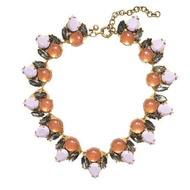 Fashion Personalized Chunky Double layers Gem Statement Necklace Western Punk Style Crystal Choker Vintage Jewelry N0641