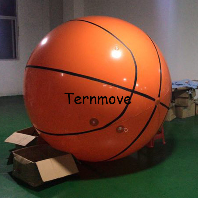 giant basketball model for decoration helium balloon with logo for sport event Inflatable basketball balloon for advertisinggiant basketball model for decoration helium balloon with logo for sport event Inflatable basketball balloon for advertising