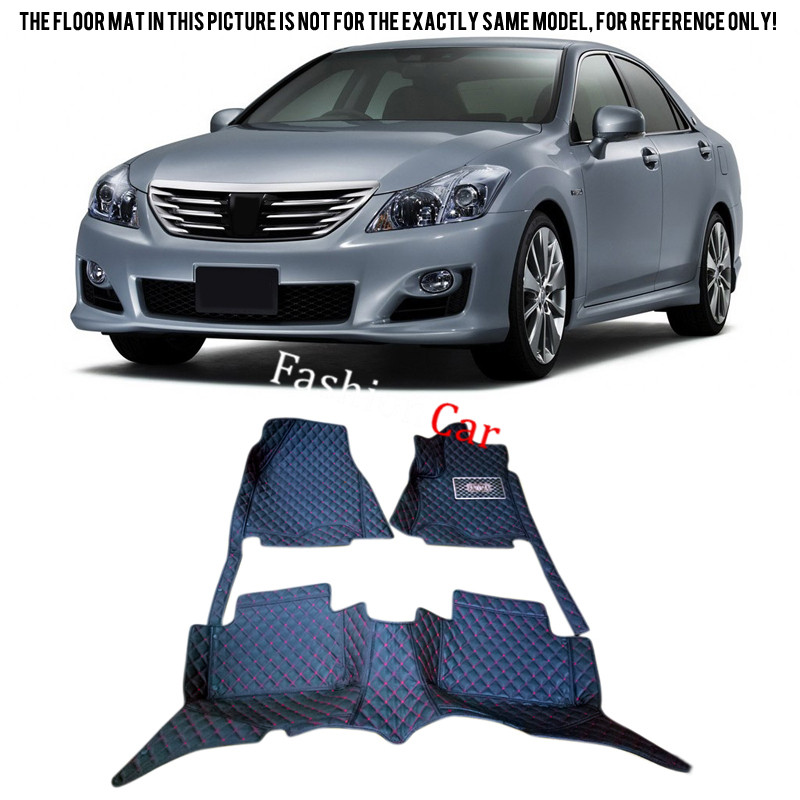 For TOYOTA Crown 2004 2005 2006 2007 Car Floor Mats Carpets Protector Car-styling Foot Pads learning carpets us map carpet lc 201