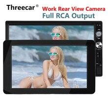 """1024×600 9 """"Ultra Sottile TFT LCD Poggiatesta DVD Monitor ingresso video HD di Radio AV Monitor per auto audio Lettore DVD Android Cam Posteriore"""