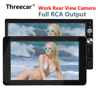 1024x600 9'' Ultra Thin TFT LCD Headrest DVD Monitors HD video input Radio AV Monitor for car audio Android DVD Player Rear Cam