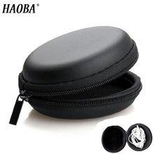HAOBA держатель для наушников чехол для хранения Жесткий Чехол для наушников Аксессуары для наушников Наушники карта памяти USB кабель
