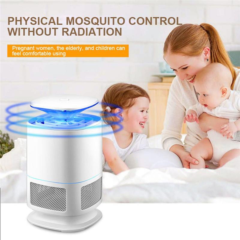 H96 Homekit USB Mosquito Killer Lamp with LED 8