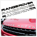 Car Styling Front Or Back Car Emblem Cover Sticker Letters Sports Style Case for Range Rover sport evoque discovery accessories