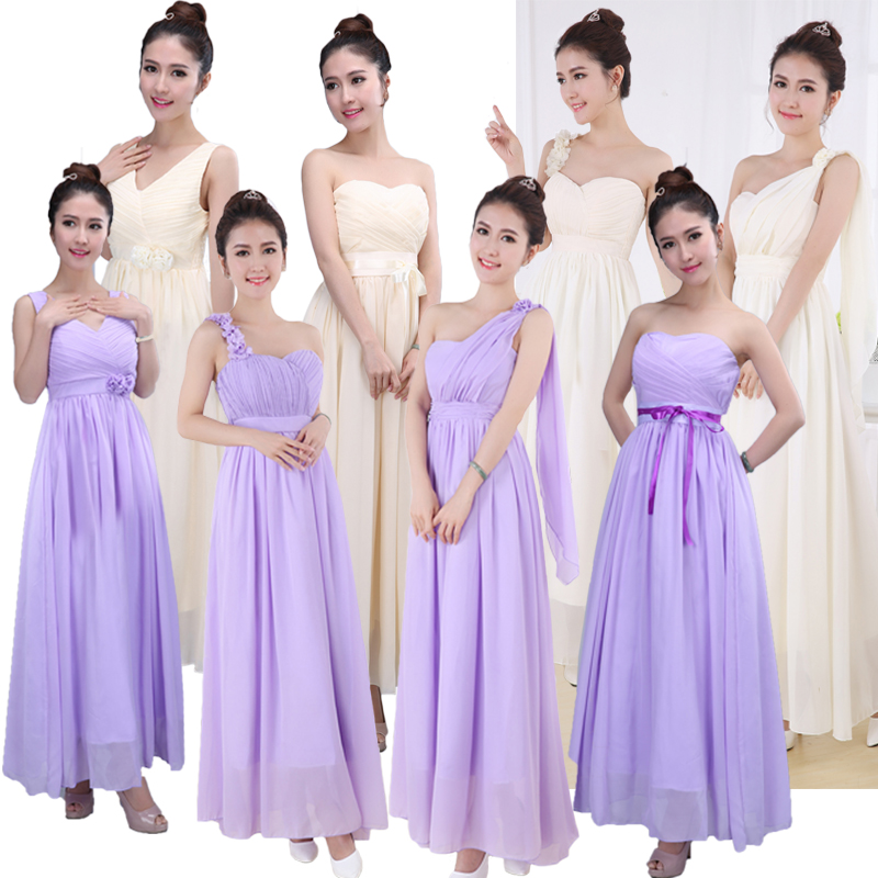 Wedding Gown For Parents: Parent Child Outfit Bridesmaid Dresses Long Married Sister