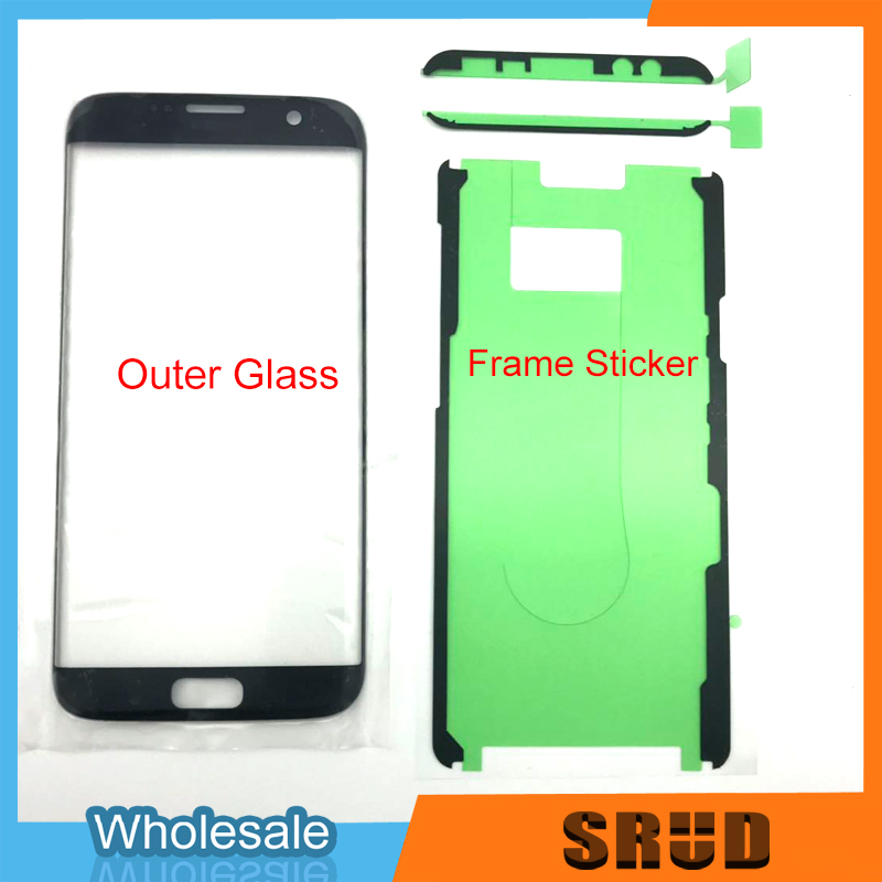 5pcs lot Original Quality Outer Glass For Samsunng Galaxy S8 S9 S10 Plus Note 8 9