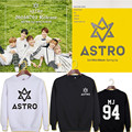 2016 KPOP Korean ASTRO Spring Up Album MJ Rocky JINJIN EUNWOO MOONBIN SANHA Cotton Hoodies K-pop Pullovers Sweatshirts