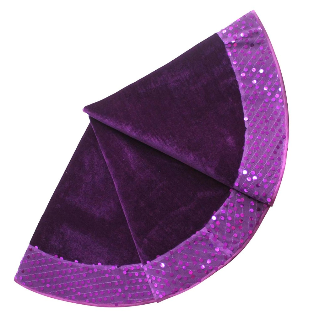 Purple Christmas Tree Skirt.Us 21 99 Free Shipping Extra Large 50