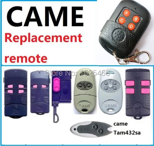 43392mhz Cloner Learning Remote For Came Garage Door Control Suit
