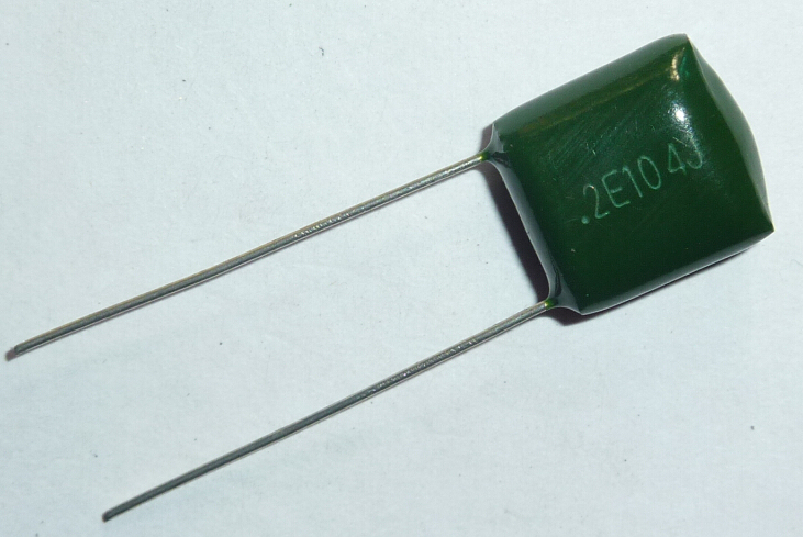 5pcs Mylar Film Capacitor 250V 2E104J 0.1uF 100nF 2E104 5% Polyester Film Capacitor