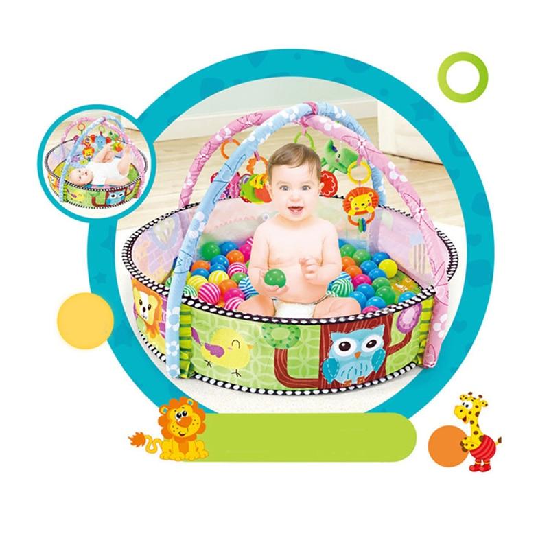 Tapis de jeu bébé puzzle sol imperméable à l'eau tapis de jeu enfants tapis bébé gym jouets pour enfants forme hibou