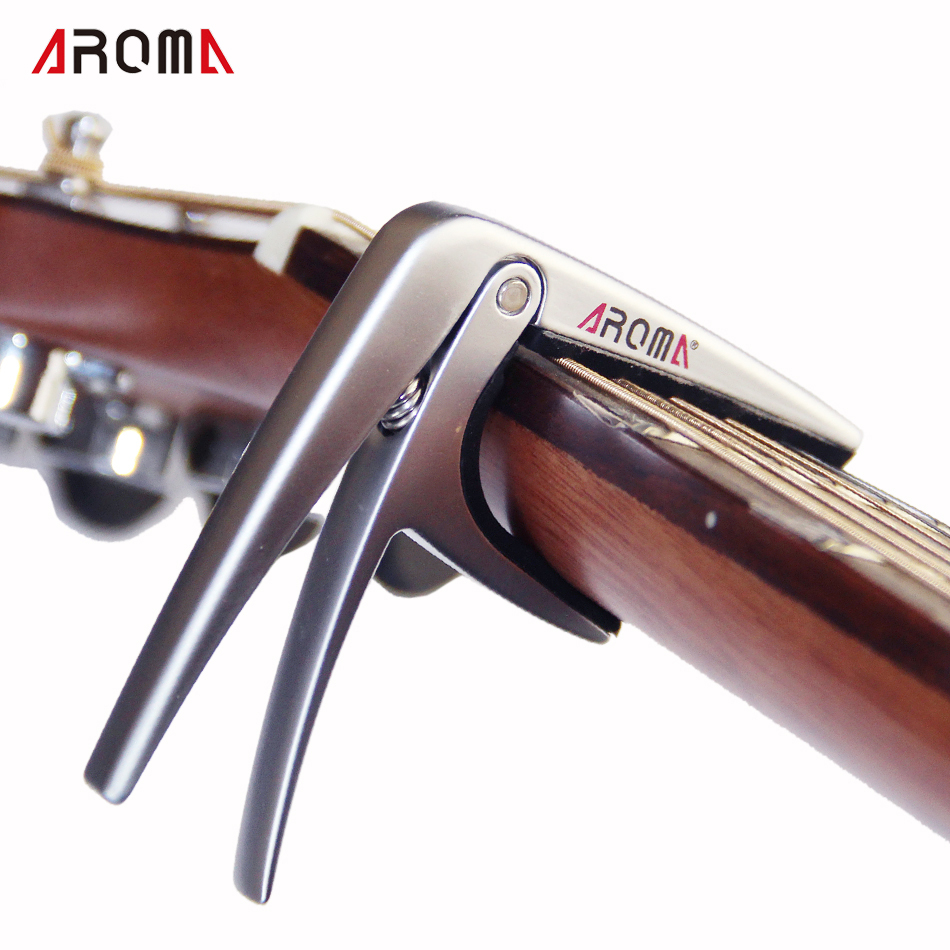 New Aroma AC-03 Zinc Alloy Capo for Ukelele and Small Size Instruments/ Ukulele Capo